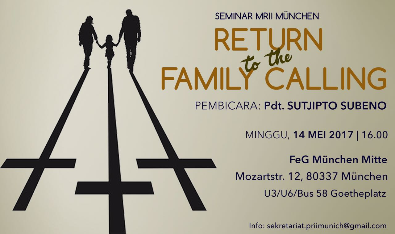 Return to the Family Calling