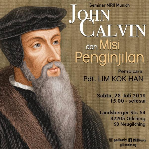 Seminar: John Calvin dan Misi Penginjilan