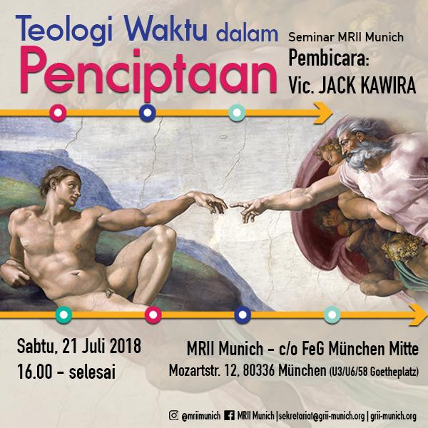 Seminar: Teologi Waktu dalam Penciptaan