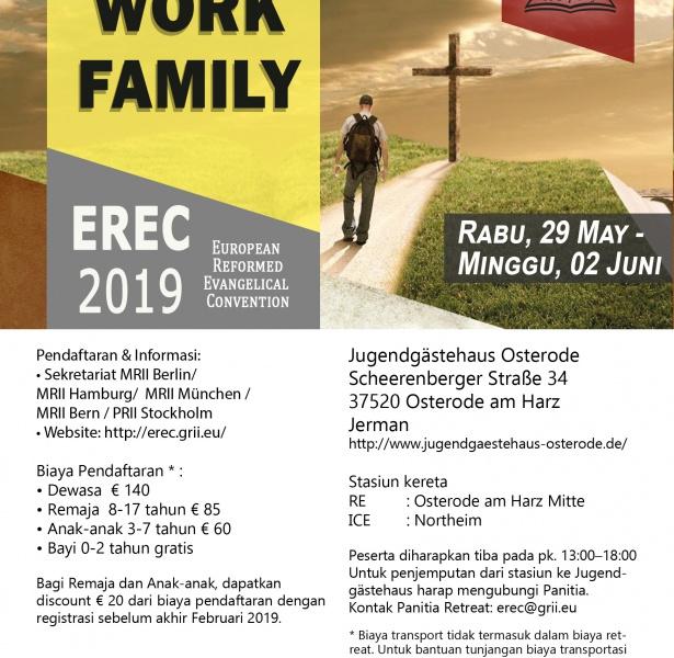 European Reformed Evangelical Convention 2019
