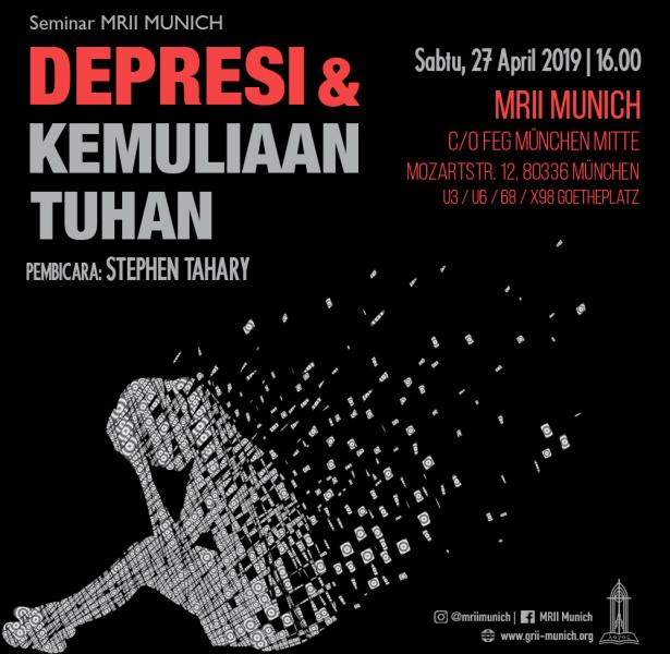Seminar: Depresi & Kemuliaan Tuhan