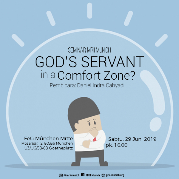 God's Servant in a Comfort Zone?