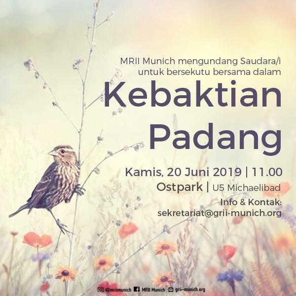 Kebaktian Padang & BBQ 2019