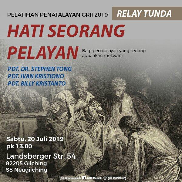Relay Tunda Seminar Penatalayan | Hati Seorang Pelayan