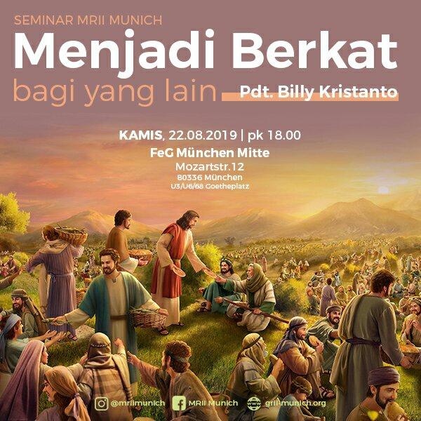 Seminar | Menjadi Berkat Bagi Yang Lain