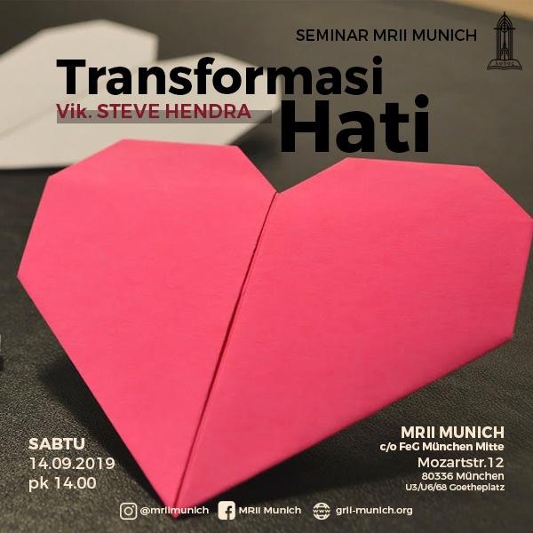 Seminar | Transformasi Hati