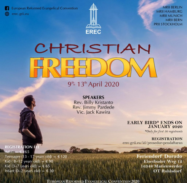 EREC 2020 | Christian Freedom