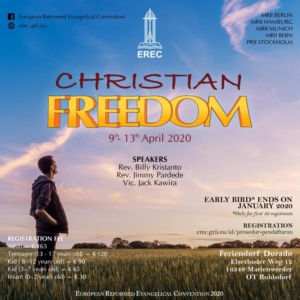 EREC 2020, MRII Munich, Christian Freedom
